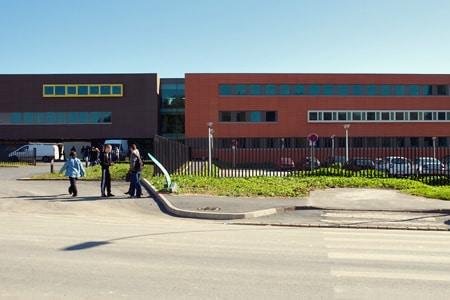 Lycée PELTIER à Ham: Chauffage (Chaudière bois, Sous Stations,...) - Ventilation (CTA, Extracteurs,...)